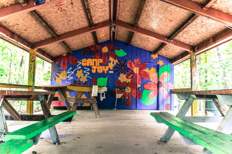 Camp Joy Art Shelter