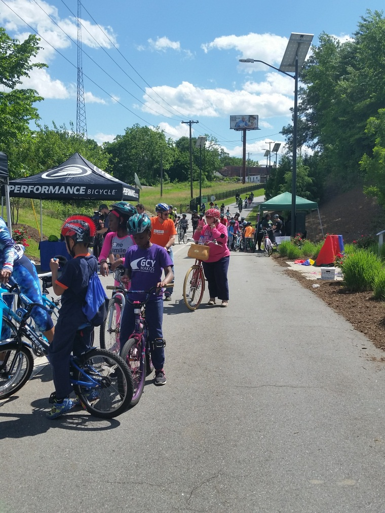 2017 Wheels on the Greenway - bike ride