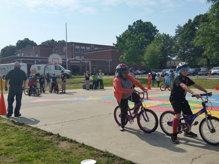 2017 BTSD and Bike rodeo - Lindley Elementary