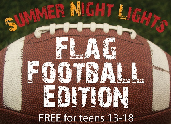 Flag Football events for teens