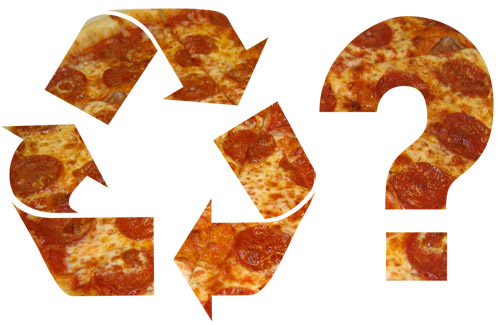 Pizza Box Recycling..