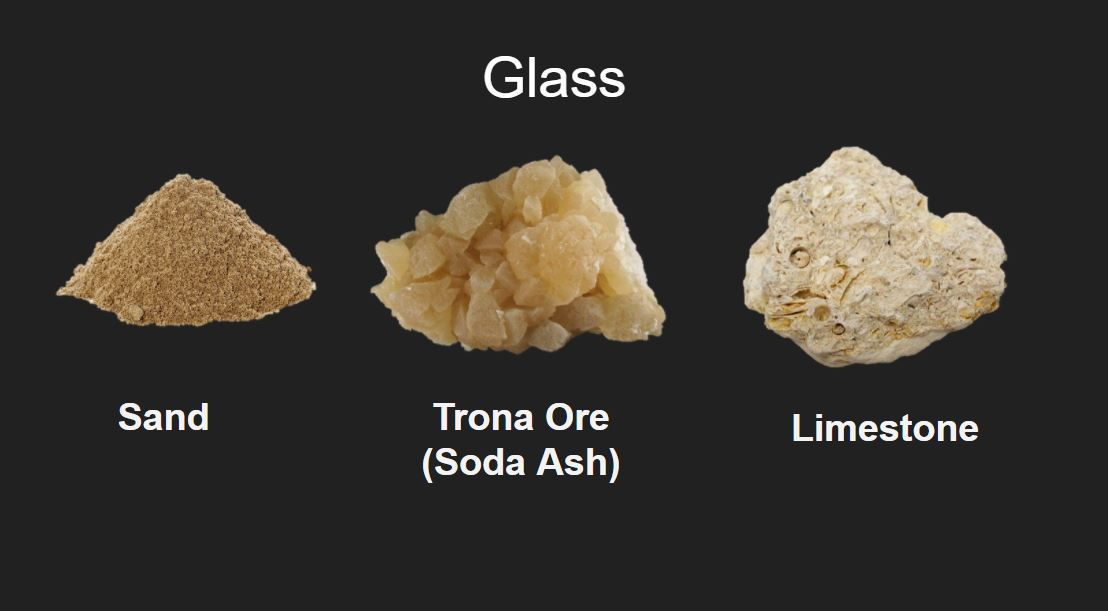 Glass ingredients