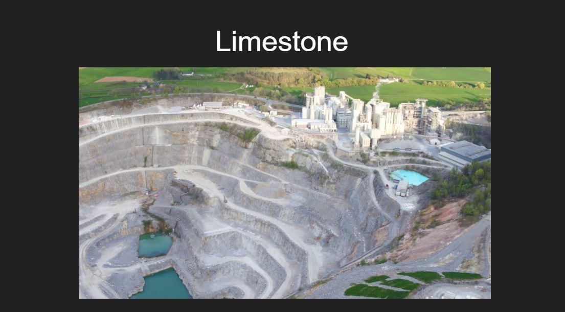 Glass ingredients_limestone