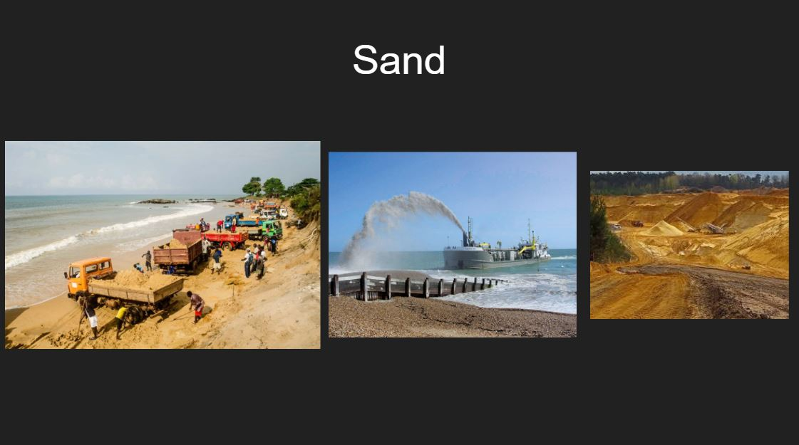Glass ingredients_sand mining
