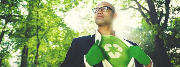 Super Hero--Recycling