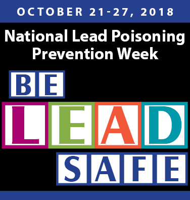 Lead Poisoning Prevention Week 376x395
