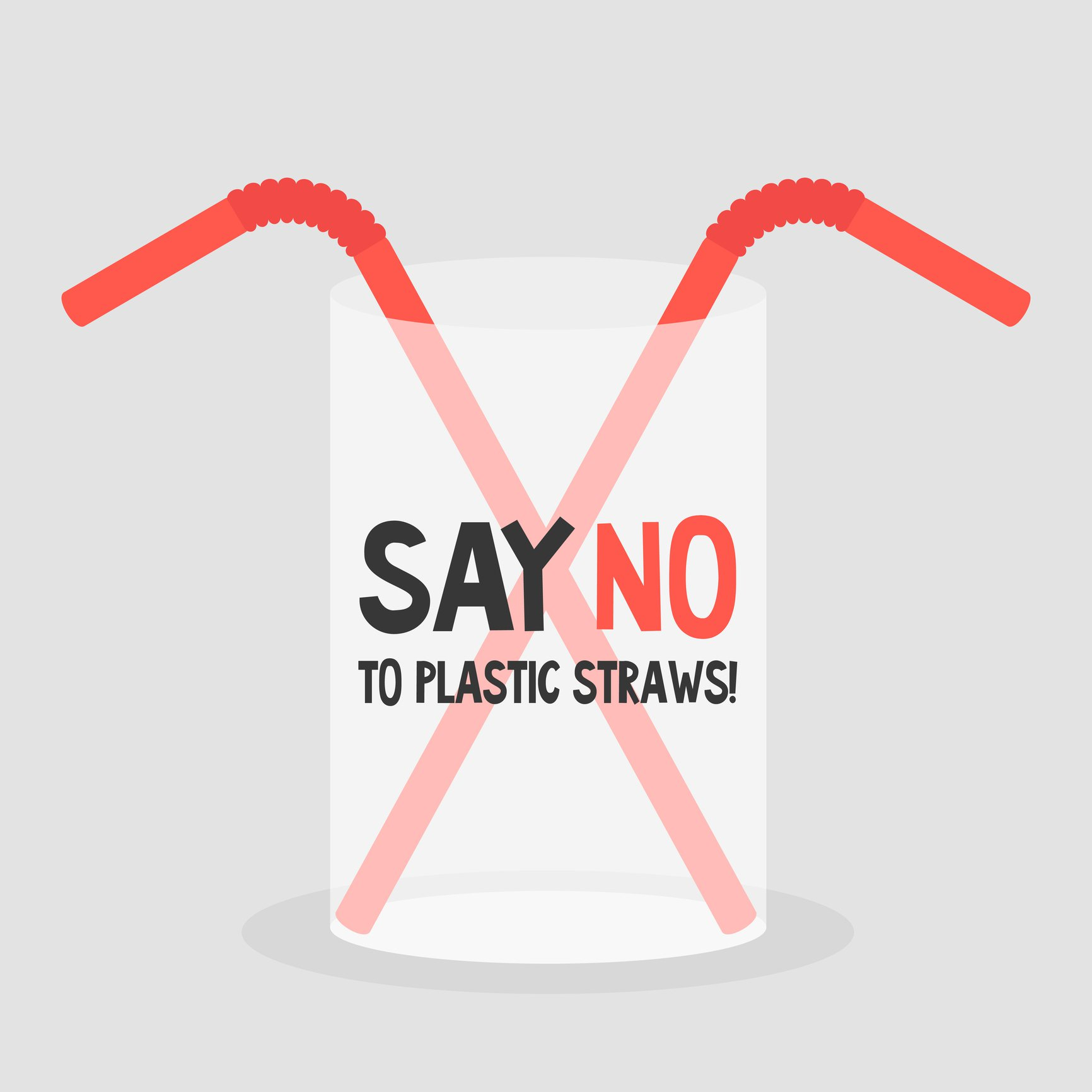no plastic straws