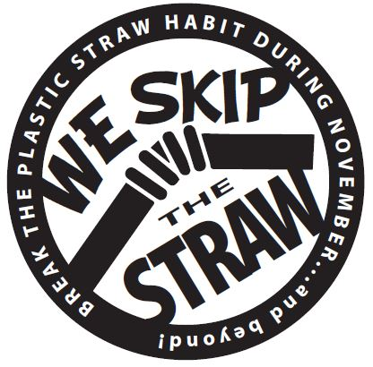 Greensboro No Straw November Logo