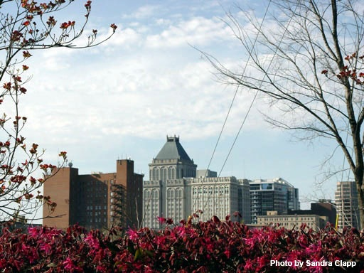 Greensboro Downtown Skyline