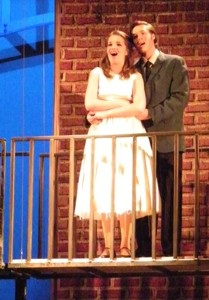 West Side Story balcony