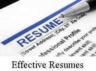 effective resumes and coverletters