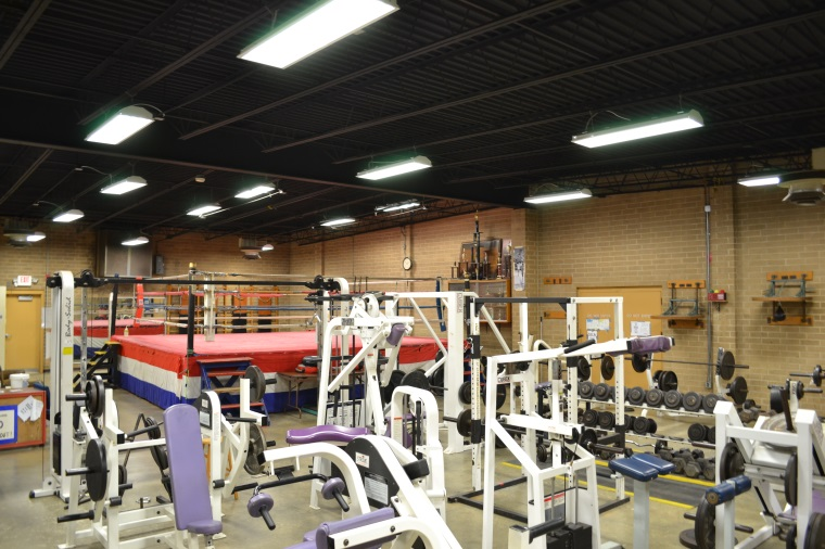 Boxing Ring and fitness equipment