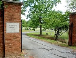 Maplewood Cemetery Entrance