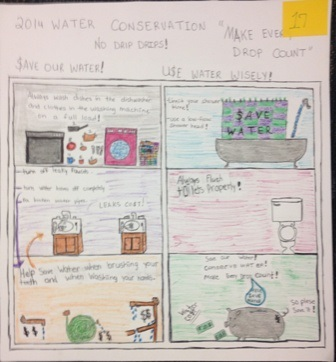 2014 Water Conservation 1st Place