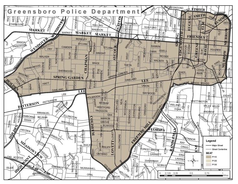 Police Division 1, Zone 110 | Greensboro, NC on
