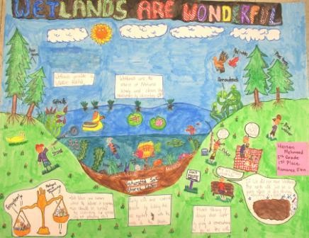 2015 1st Prize 5th Grade Poster Winner
