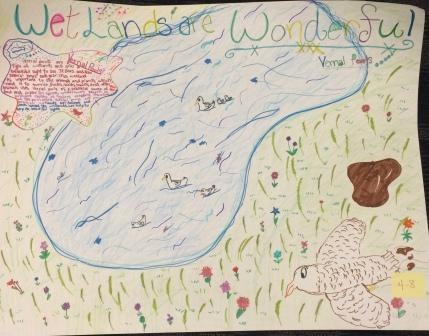 2015 2nd Prize 4th Grade Poster Winner