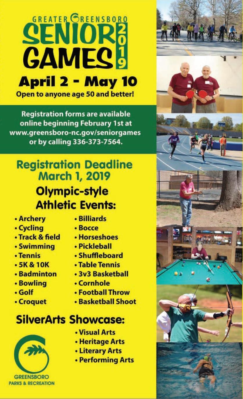 Senior Games   Greensboro, NC