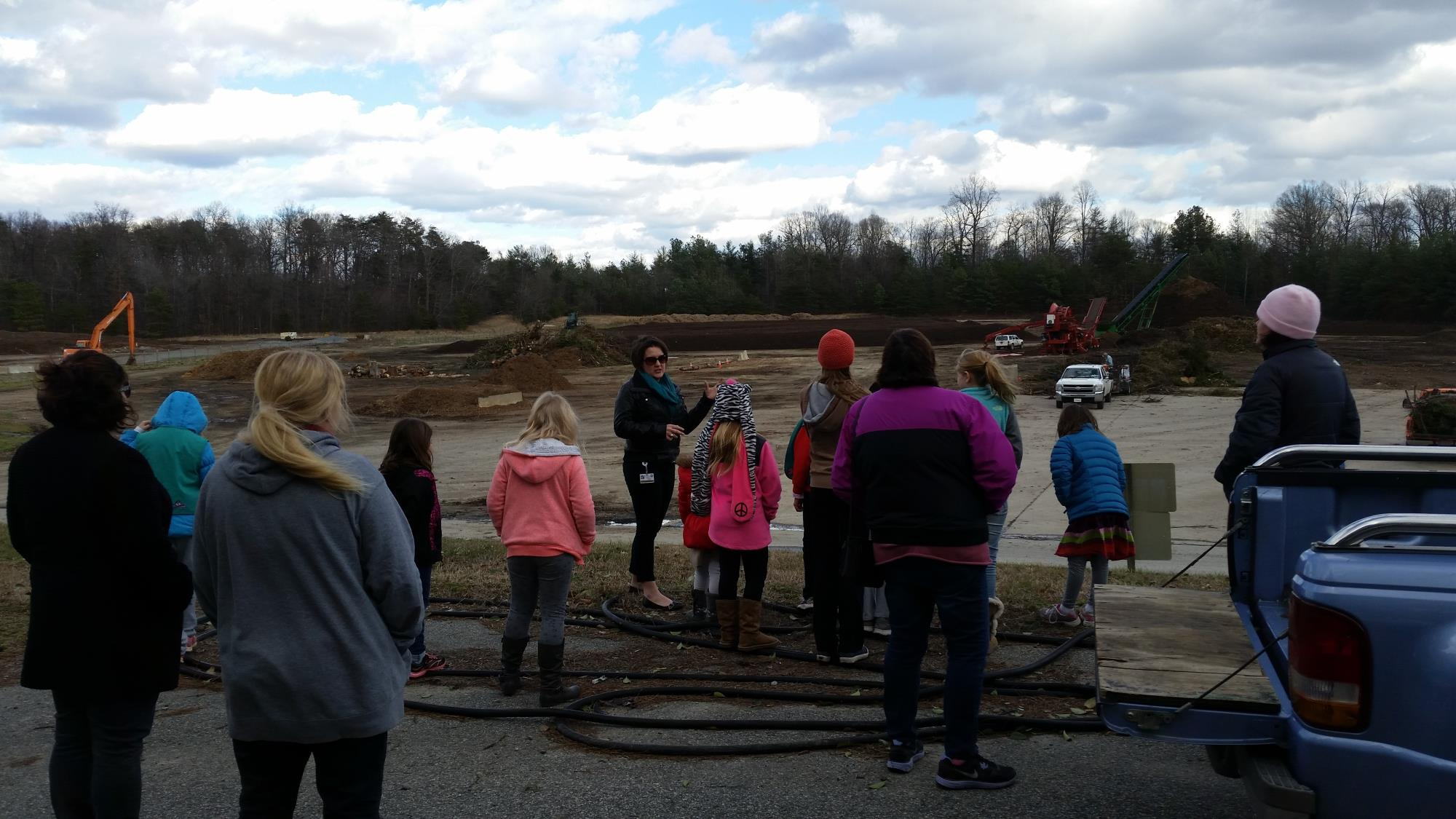 Composting Tour at Landfill