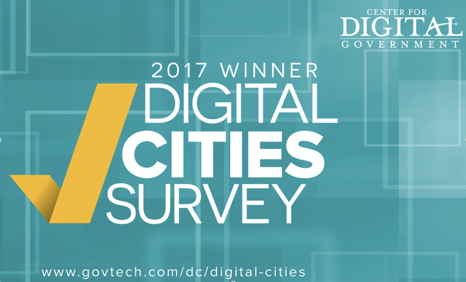 2017 Digital Cities Survey Logo