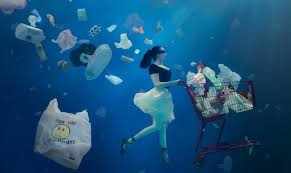 plastic ocean shopper
