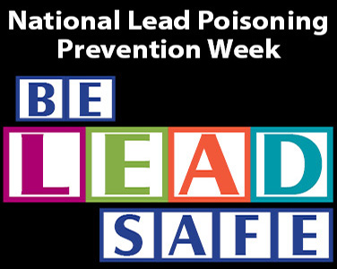 Lead Poisoning Prevention Week News Item