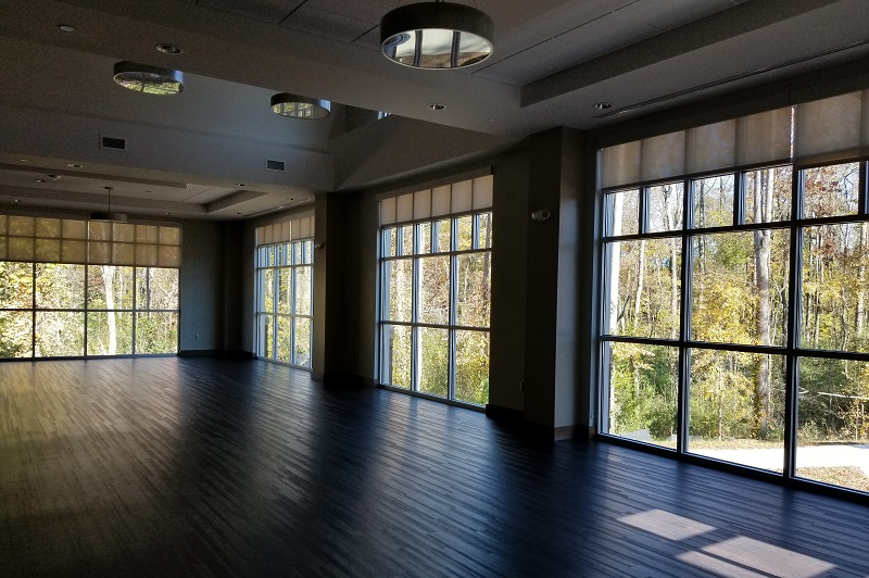Barber Park Event Center function room