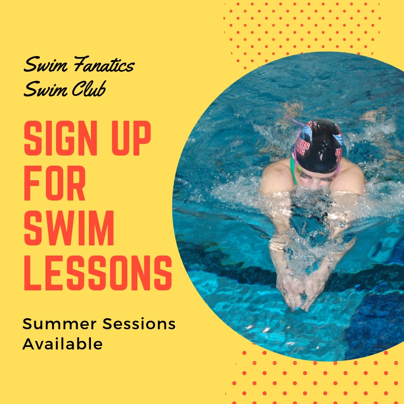 Swim Fanatics Swim Club: Sign up for Swim Lessons. Summer Sessions Available.
