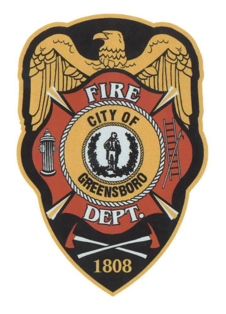 Greensboro Fire Department patch