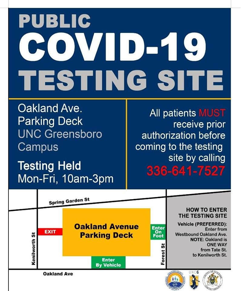 Guilford County Health Department Testing