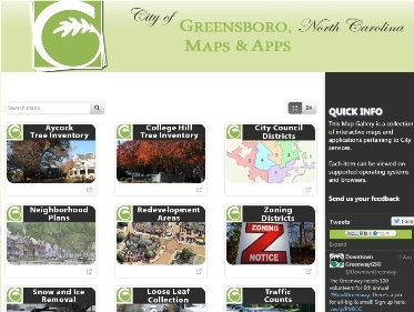 Web Mapping Gallery graphic