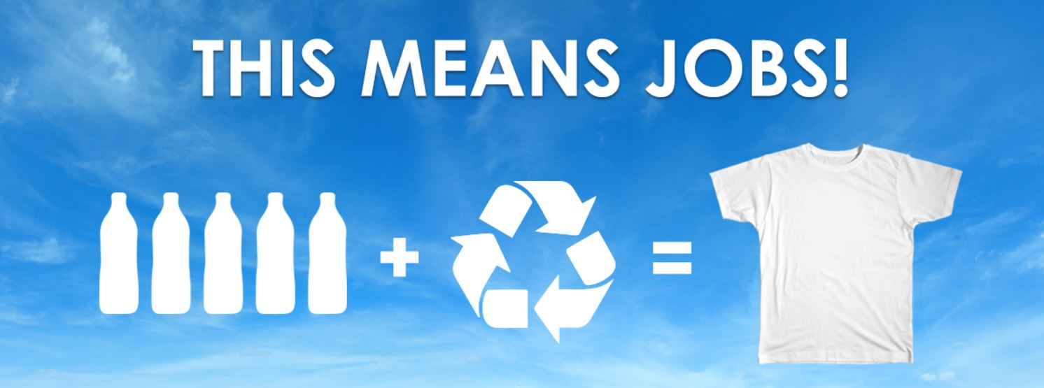 Recycle 2 more Bottles per Week_Create Jobs
