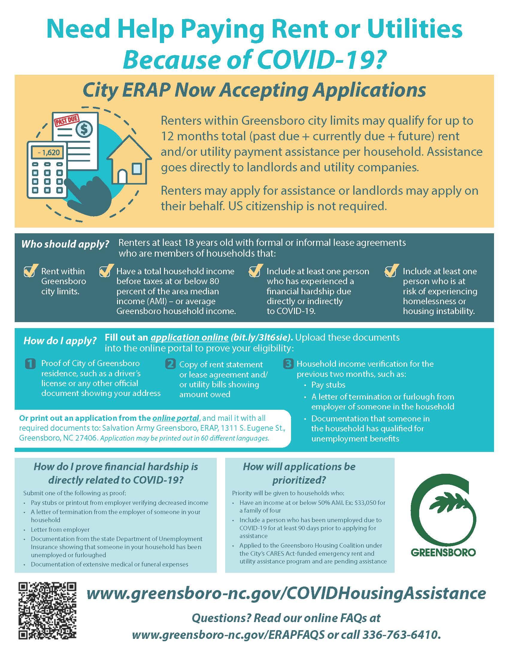 Covid 19 Housing Assistance Greensboro Nc